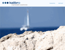 Tablet Preview of kalibro.hr